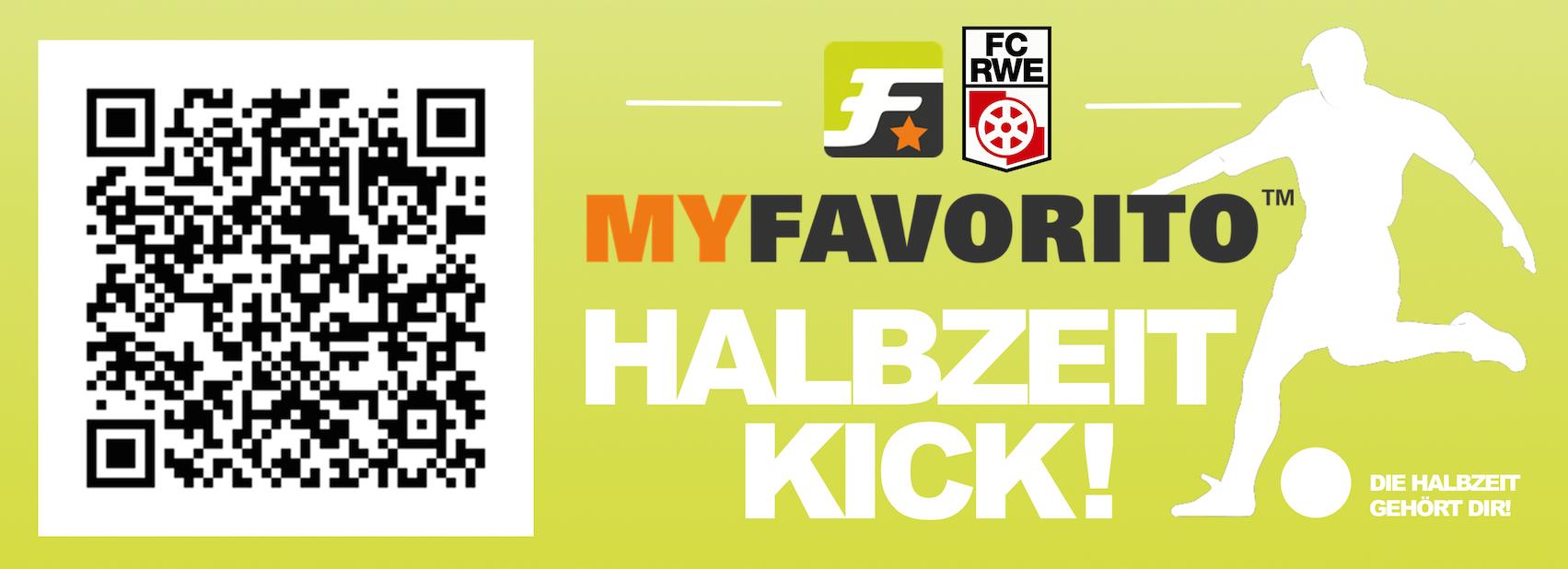 Der MYFAVORITO Halbzeit-Kick