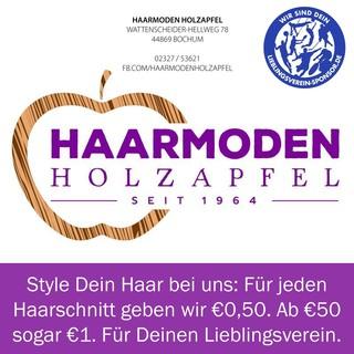 Style Dein Haar bei uns: Für jeden Haarschnitt geben wir €0,50. Ab €50 sogar €1. Für Deinen Lieblingsverein.