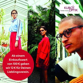 BRILLEN & KONTAKTLINSEN - Ab 100€ geben wir 12€ für Deinen Lieblingsverein