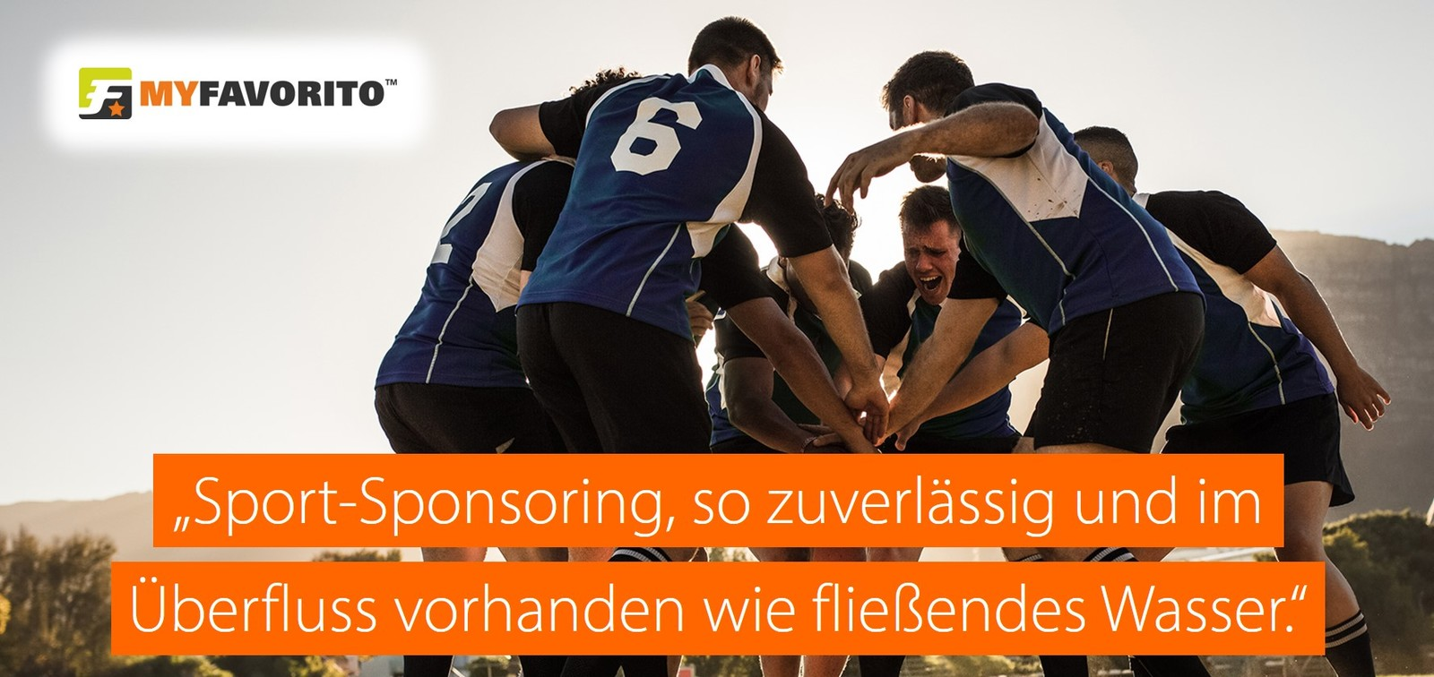 myfavorito sport sponsoring vision