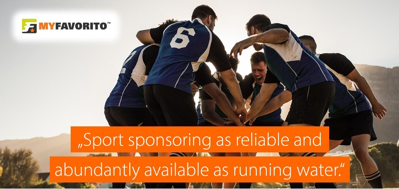 myfavorito sport sponsoring vision en