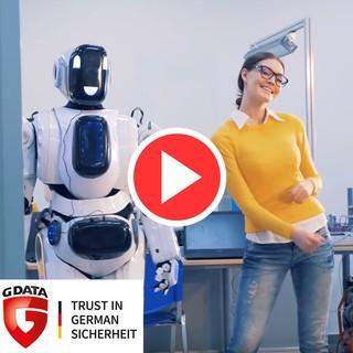 G DATA - Wir sichern die digitale Zukunft und unterstützen Deinen Lieblingsverein.