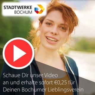 Stadtwerke Bochum - €0,25 für Deinen Lieblingsverein