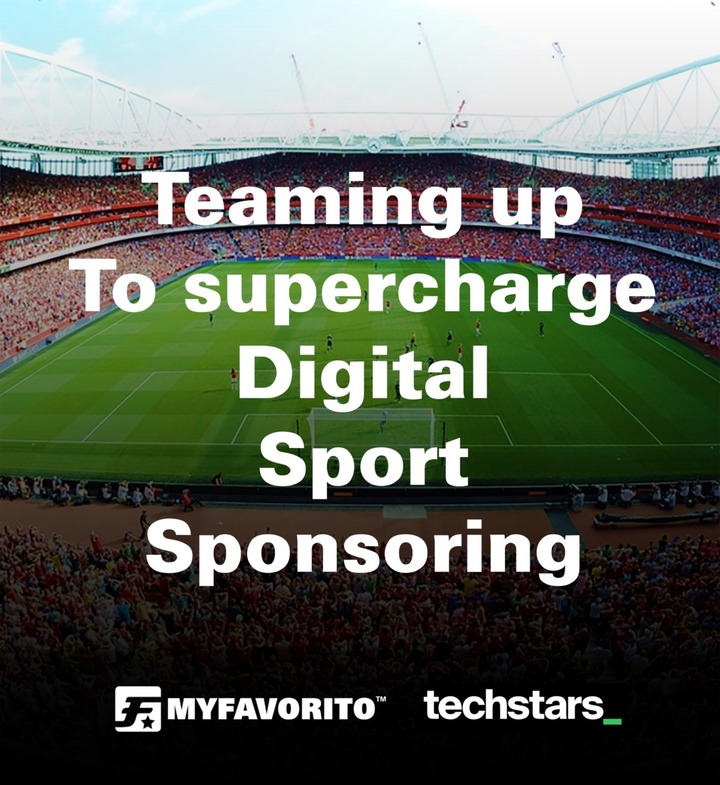 Massiver Boost für Digital Sport Sponsoring: Techstars und MyFavorito ab jetzt gemeinsam