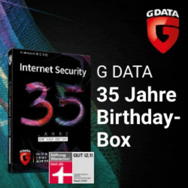 G DATA Internet Security - 35 Jahre Sonderedition